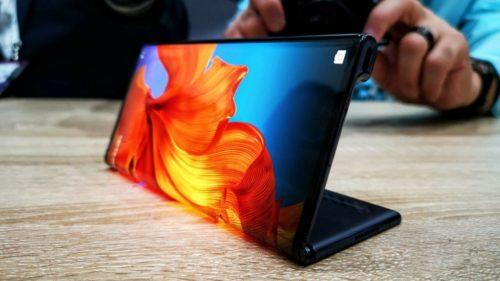 Huawei с гибким экраном за 170 000 рублей!