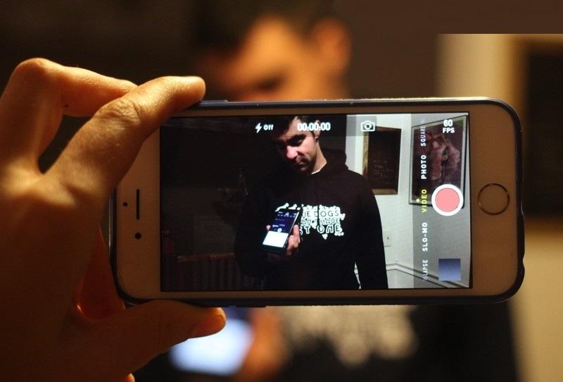 Снимаем видео с выключенным дисплеем