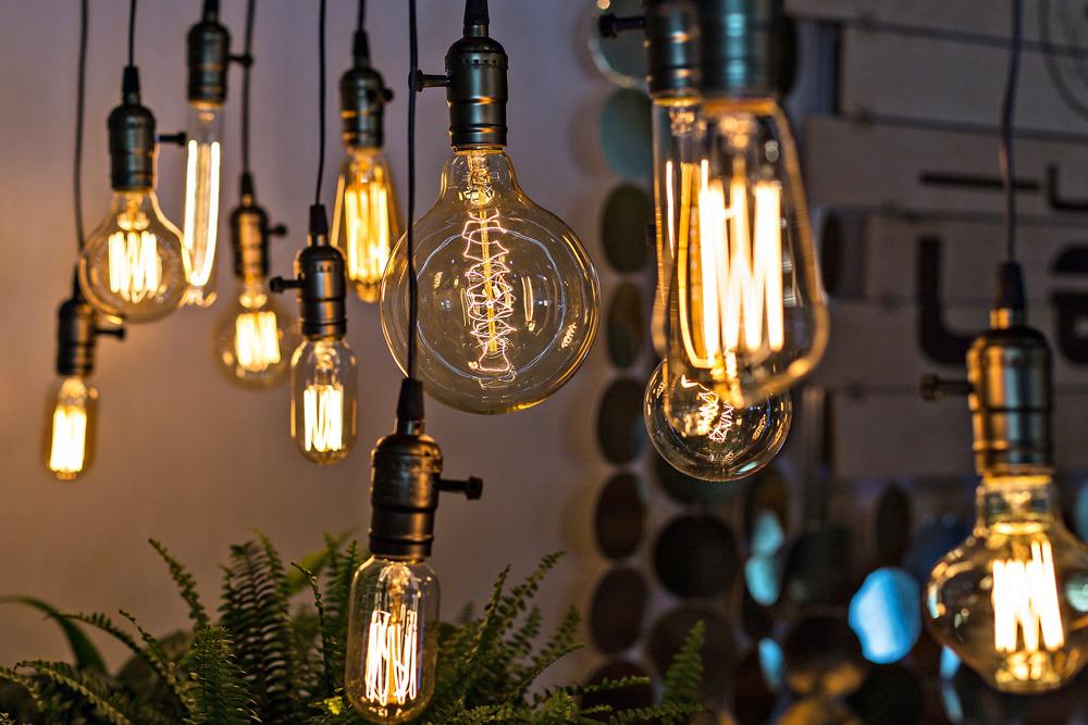 Лампы с разным уровнем яркости