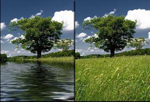 Плагин Отражение в воде для фотошопа