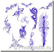 кисти татуировки для фотошопа