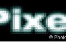 пиксельный текст в фотошоп