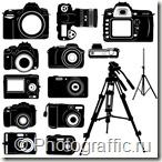 фигуры фотошоп - фотоаппараты