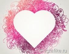 кисти рамка сердце для фотошопа