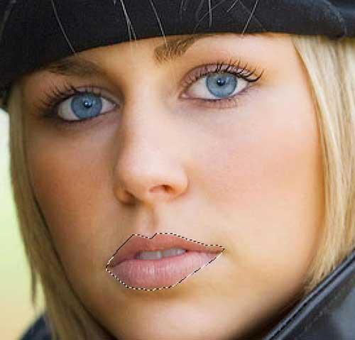 Виртуальный макияж в фотошоп