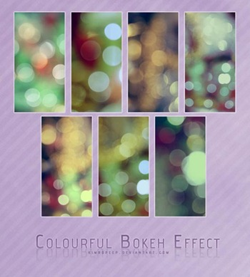 Colourful-Bokeh-Effect