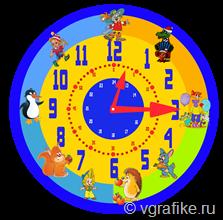скачать часы для обучения