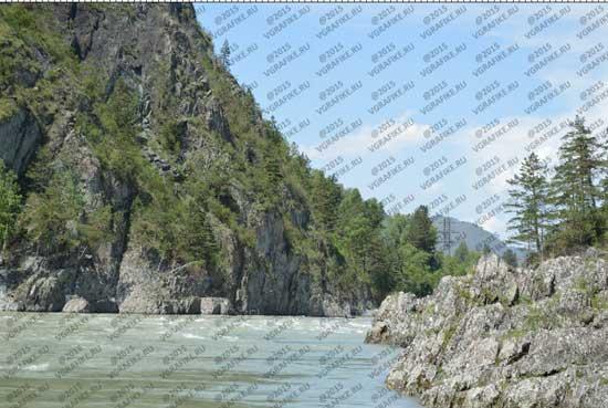 водяной знак на фото в фотошоп