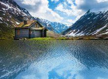 реалистичное отражение в воде в фотошоп