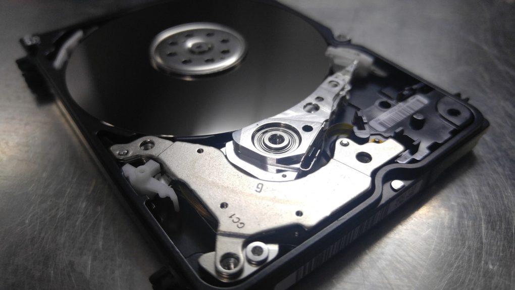 Восстановления данных с жесткого диска