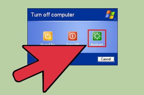 ручная перезагрузка компьютера