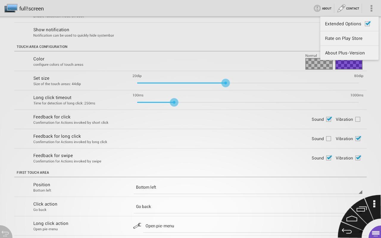 Наэкранные кнопки для андроид 4pda. Активируем виртуальные кнопки на экране Android, если вышли из строя сенсорные