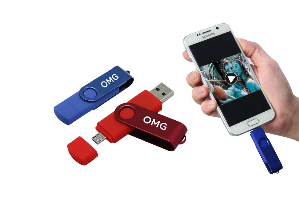 USB-накопитель Memory Stick Dual Mobile Otg Micro