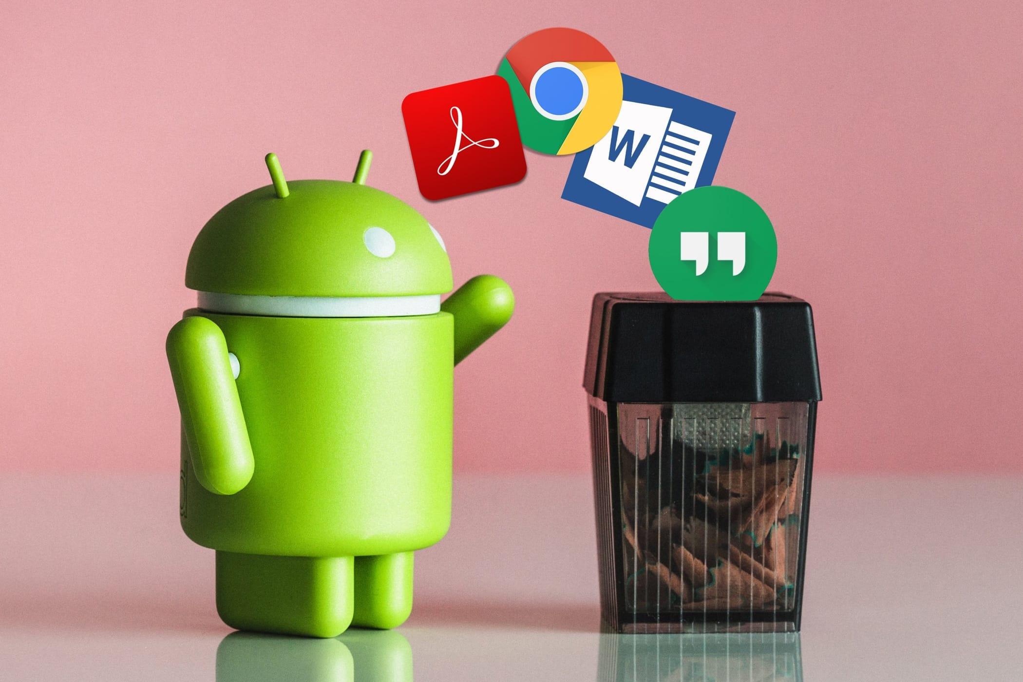 Удаление файлов на Андроиде