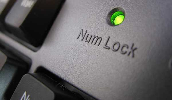 Клавиша Num Lock