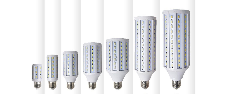 Лампы разного размера
