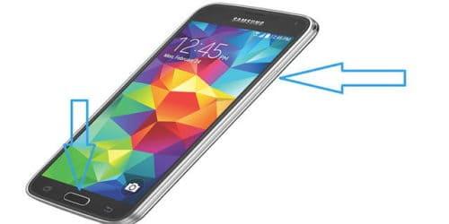 Как сделать снимок экрана на смартфоне SAMSUNG