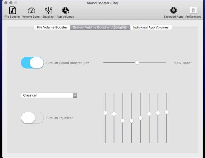 усиление звука на ноутбуке программа бесплатная